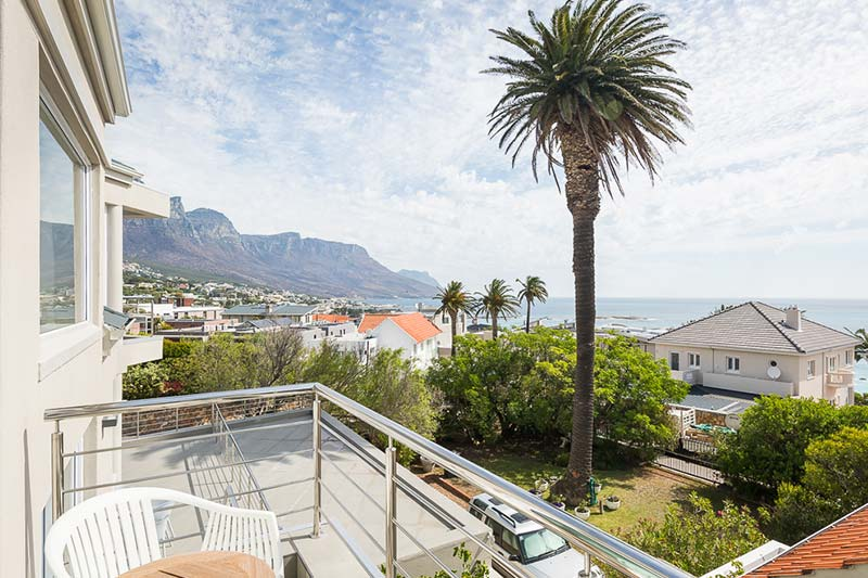 villa 5 balcony view